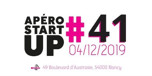 Apéro Startup #41 - Le Paddock - Décembre 2019