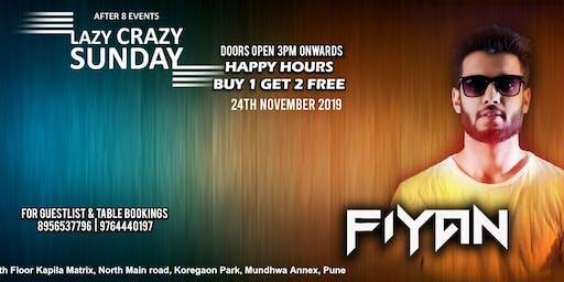 Lazy Crazy Sunday Session - DJ FIYAN