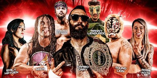 LIVE Pro Wrestling in Irvinestown