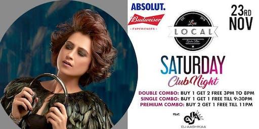 Saturday Club Night - DJ Aashikaa