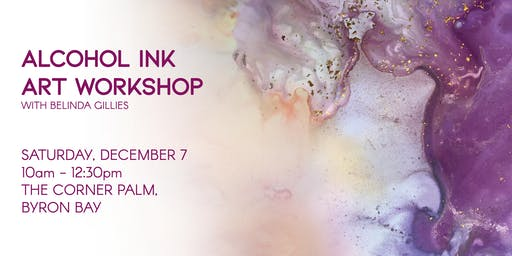 Alcohol Ink Abstract Art Workshop