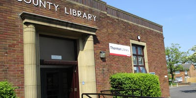 Thornton Reading Group (Thornton Library)#LancsLibRG