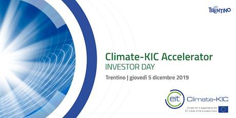 Climate KIC Investor Day biglietti