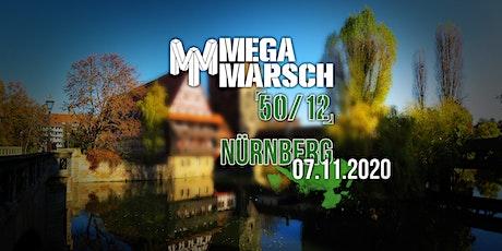 Megamarsch 50/12 Nürnberg 2020  Tickets