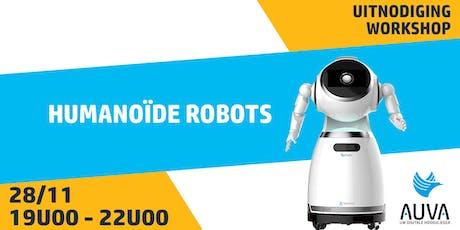 Maak kennis met humanoïde robots tickets