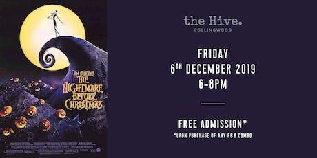 The Hive Screening: Tim Burton's The Nightmare Before Christmas tickets