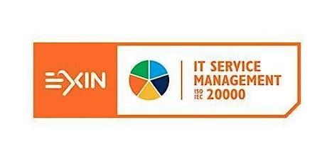 EXIN – ITSM-ISO/IEC 20000 Foundation 2 Days Training in Sacramento, CA tickets