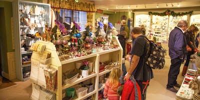 Christmas Gift Shop Opening Night