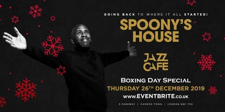 Spoony's House - Boxing Day Special tickets