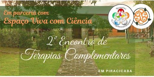 II Encontro de terapias complementares de Piracicaba