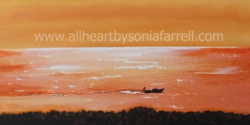'Liquid Gold' Art Experience with  Sonia Farrell: Creative Hearts Art