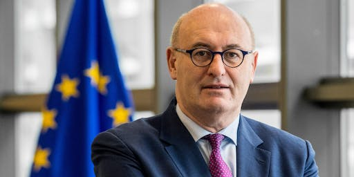 'A New Decade: Prospects, Problems and Priorities for the next European Commission' with Phil Hogan, European Commissioner designate for Trade