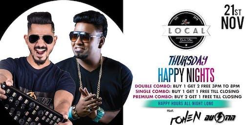 Thursday Happy Nights - DJ Rohen & DJ Dustin