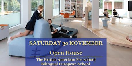 Open House - Bilingual European School tickets