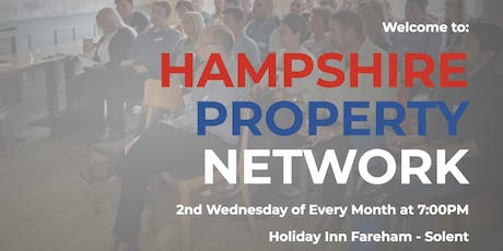 Hampshire Property Network Xmas Dinner tickets