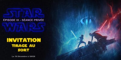 Projection privée Sii Tours - StarWars épisode IX