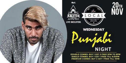 Wednesday Punjabi Bollywood Night - DJ Faith & Live Dolsters