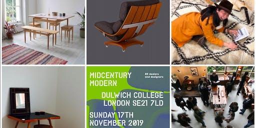 Midcentury Modern® Vintage & Contemporary Interior Show Dulwich Peckham Brixton