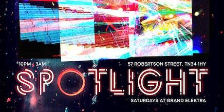 Spotlight - Saturdays at Grand Elektra tickets