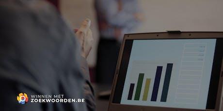 SEO dagopleiding - Winnen met Zoekwoorden - Dankzij SEO domineren in Google tickets