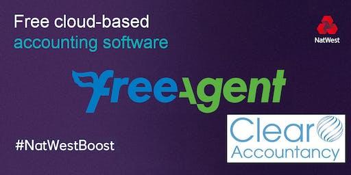 Making Tax Digital - FreeAgent training in TELFORD, SHROPSHIRE. Free sessions