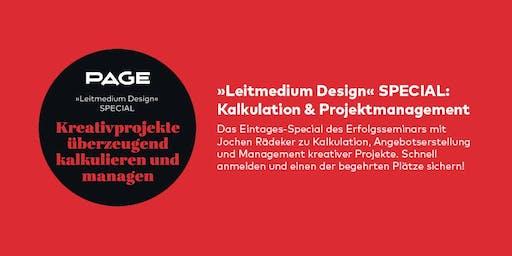 PAGE Seminar »Kalkulation & Projektmanagement« mit Jochen Rädeker