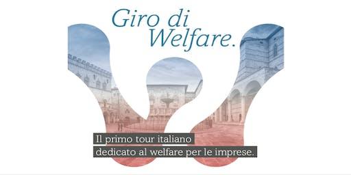 Giro di Welfare: Il primo tour italiano dedicato al welfare per le imprese