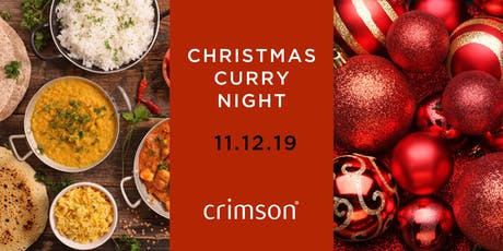 Crimson's Christmas Curry Night tickets