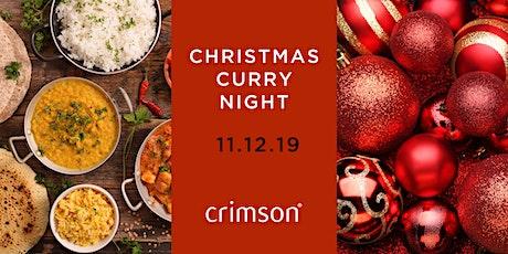 Crimson's Christmas Curry Night tickets