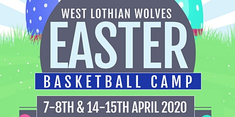 West Lothian Wolves Easter Holiday Basketball Camp 2020 tickets