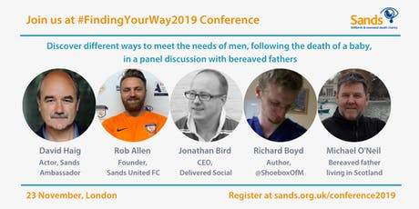 Sands #FindingYourWay Conference & AGM 2019 tickets