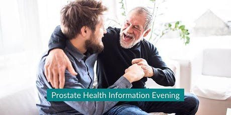 Prostate Health - Free information evening tickets