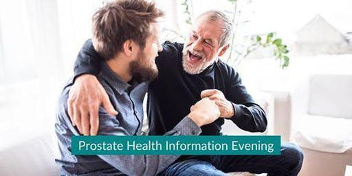 Prostate Health - Free information evening