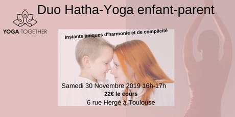 Duo Yoga parent-enfants Toulouse-Pouvourville billets