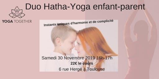 Duo Yoga parent-enfants Toulouse-Pouvourville