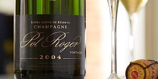 Champagne Pol Roger Wine Dinner