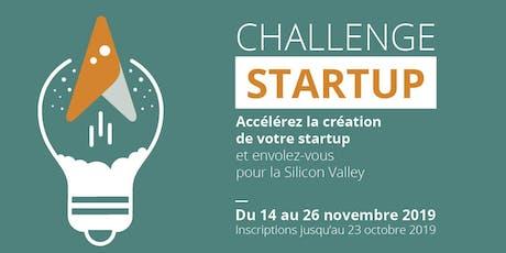 Soirée de clotûre du Challenge Startup billets