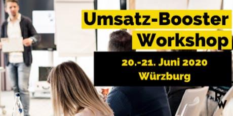 Umsatz-Booster Workshop  Tickets