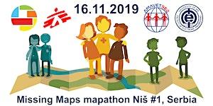 Missing Maps mapathon Niš #1