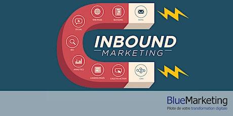 Inbound marketing et stratégie d'acquisition via le web billets