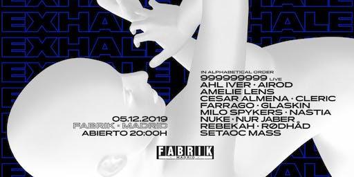 Exhale Madrid by Amelie Lens en FABRIK