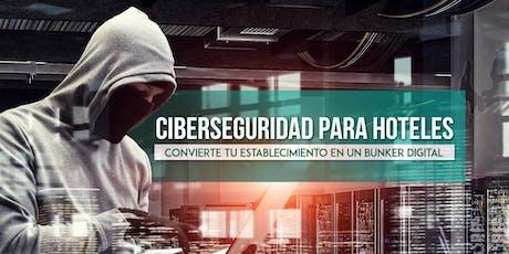 Ciberseguridad para Hoteles entradas