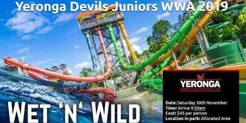 Yeronga Devils Footy Families Wet 'n' Wild Fun Day