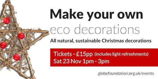 Make your own eco Christmas decorations