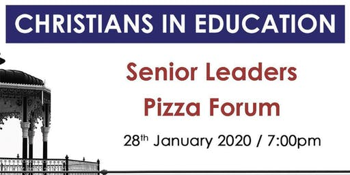 Senior Leaders Pizza Forum