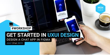 Get Started in UXUI Design: Design a chat app in Figma tickets