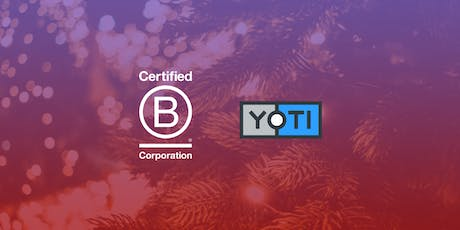 Using Business as a Force For Good: Yoti Christmas B Social tickets