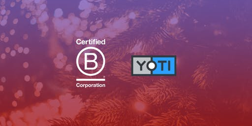 Using Business as a Force For Good: Yoti Christmas B Social