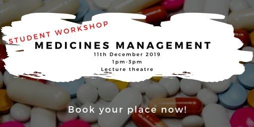 Medicines Management for Pre-Reg NMC Students