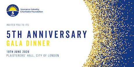 IICF UK 5th Anniversary Gala Dinner 2020 tickets